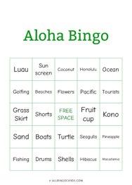 Aloha Bingo