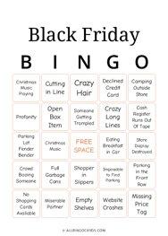 Black Friday Bingo