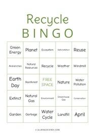 Recyle Bingo
