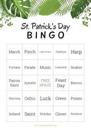 St. Patricks Bingo