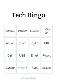 Tech Bingo